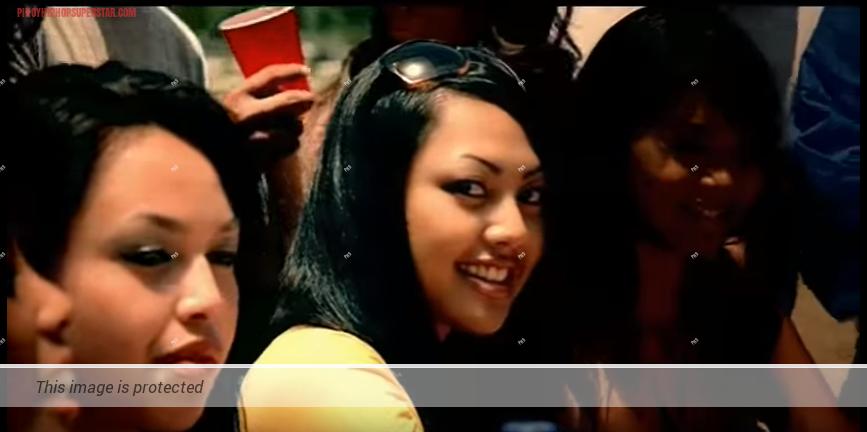 Jennifer Samoranos in Black Eyed Peas' Bebot Music Video