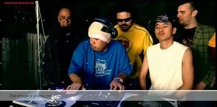 DJ Rocky Rock in Black Eyed Peas Bebot Music Video