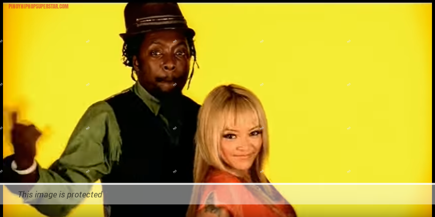 Tila Tequila and will.i.am in Black Eyed Peas Bebot Music Video